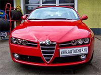 Chiptuning értékelés Alfa Romeo 159 1.9 MJ
