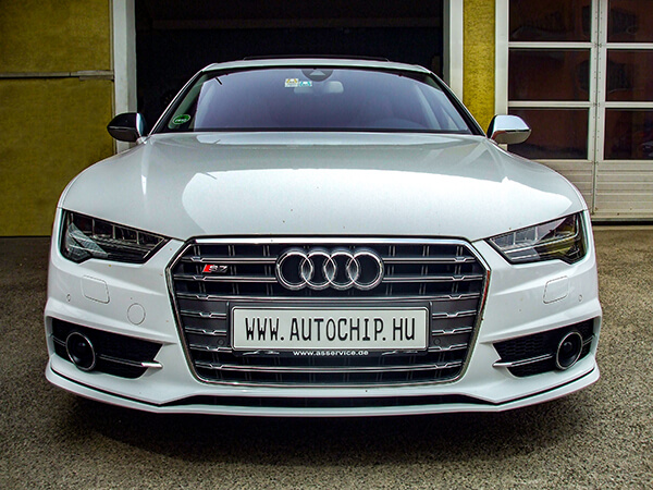 Chiptuning referencia Audi S7 4.0 TFSI